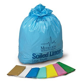 Laundry and Linen Bags - HDPE film, Flat Pack