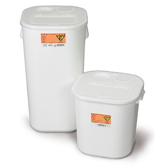 Stackable Sharps Containers - Chemo Waste Container